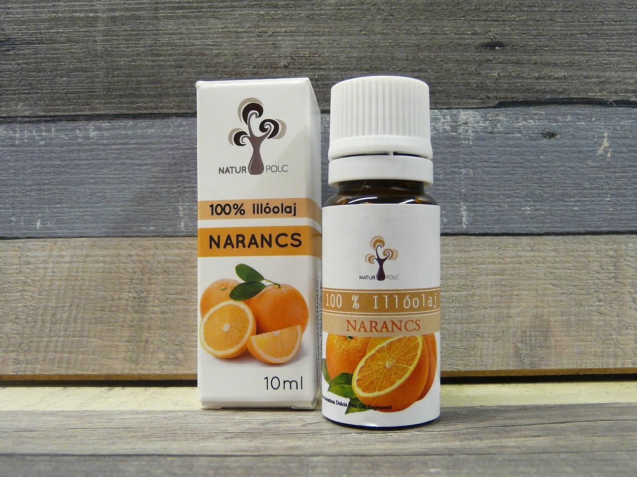 Édes narancs illóolaj 10ml
